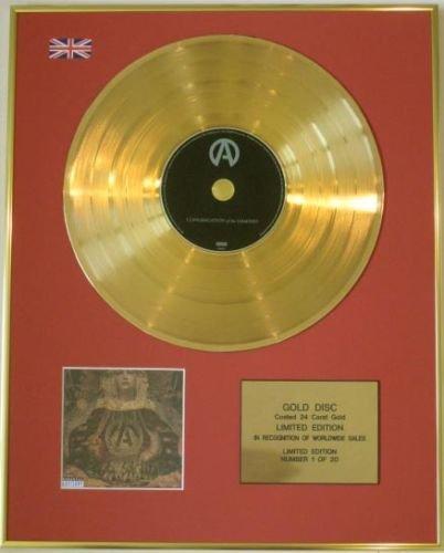 "ATREYU Edtn Ltd-CD Gold Disc-CONGREGATION di THE DAMNED """