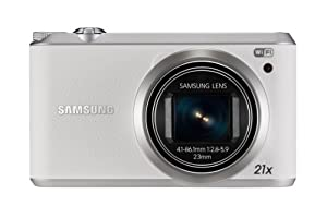 Samsung WB350F Smart Camera - White (16.3MP, Optical Image Stabilisation) 3 inch LCD