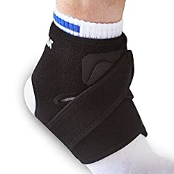 Happy Hours® Happy Hours Unisex 2 Packs Ankle Support Heel Brace Foot Wrap Pain Relief Compression One Size Fits Most