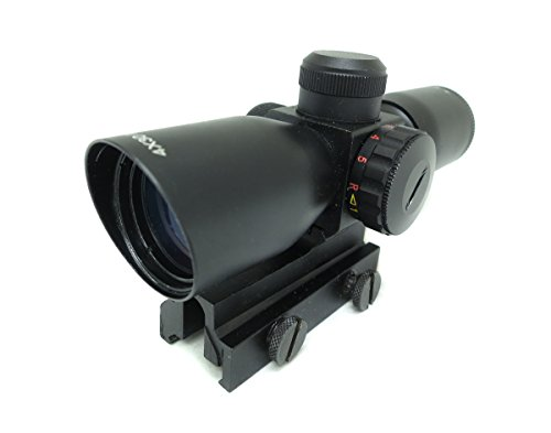 Monstrum Tactical 4×30 Ultra-Compact Rifle Scope with Illuminated Mil-dot Reticle