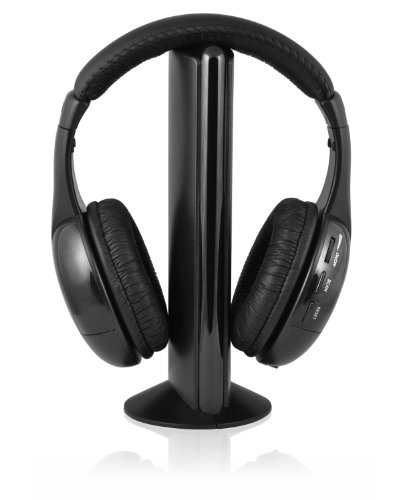 Ematic Eh156 Wireless Headphones And Transmitter