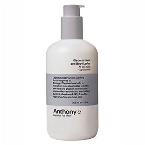 Anthony Logistics Glycerin Hand & Body Lotion - 12 fl.oz. by Anthony Logistics for Men