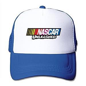Adult Nascar Unlesshed Adjustable Mesh Hat Trucker Baseball Cap RoyalBlue