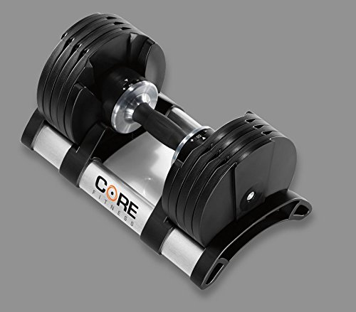 Adjustable Dumbbell Weight Set By Core Fitness