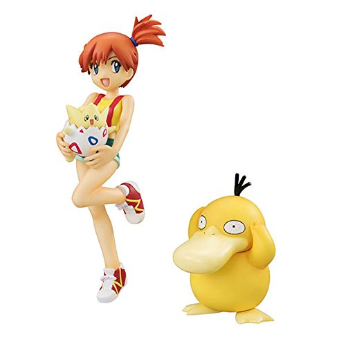 Pokemon Action Figure Pocket Monster Toy Nendoroid Togepi Psyduck Misty Anime Ash Ketchum SHF Pokemon Go (with retail box)