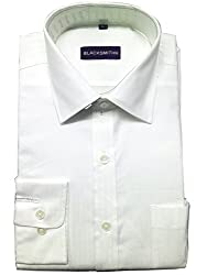 Blacksmith Men's Formal Shirt_1968096031BLSHIRT60S3_Snow White_38
