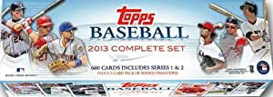 2013 Topps MLB Baseball Exclusive Massive 665 Card Factory Sealed Retail Factory Set.... by Topps