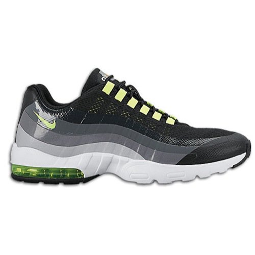 Nike Women's Wmns Air Max 95 Ultra, BLACK/VOLT-ANTHRACITE-DARK GREY, 7 US (Women Nike Air Max 95 compare prices)