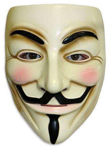OrangeTag OrangeTag Guy Fawkes V for Vendetta Adult Masks, Lot of 10 (V For Vendetta Masks)