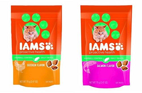 iams-proactive-health-hairball-care-daily-cat-treats-variety-bundle-chicken-and-salmon-247oz-by-iams