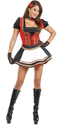 Adult Beer Garden Babe Costume Small