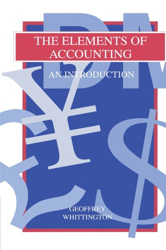 The Elements of Accounting: An Introduction