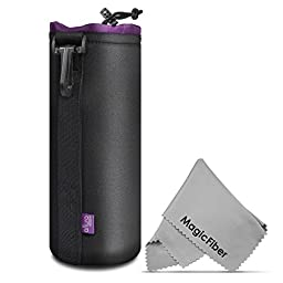 Altura Photo Extra Large Neoprene Pouch Bag for DSLR Camera Lens (Canon, Nikon, Pentax, Sony, Olympus, Panasonic)