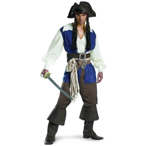 WMU - Captain Jack Sparrow Teen Deluxe