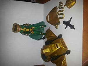 1996 Serpentor Action Figure with Air Chariot