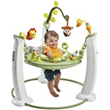 Evenflo 61711197 ExerSaucer Jump and Learn Active Learning Center Safari Friends