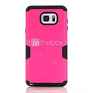3-In-1 Phone Cases For Samsung Galaxy Note 5 Hard &Soft Rubber Hybrid Armor Case Cover #04969782