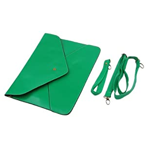 Green Lady Women Envelope Clutch Chain Purse HandBag Shoulder Bag