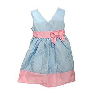 Girls Summer Wear Special Occasion Dress with Bow