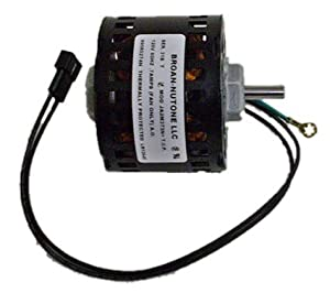 Broan Replacement Vent Fan Motor # 99080274, .7 amps, 1500 RPM, 120 volts by nutone Broan