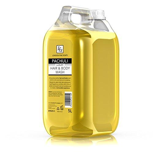london-fine-soaps-byr255-5-lfs-patchouli-lavare-corpo-e-capelli-5-l-confezione-da-2