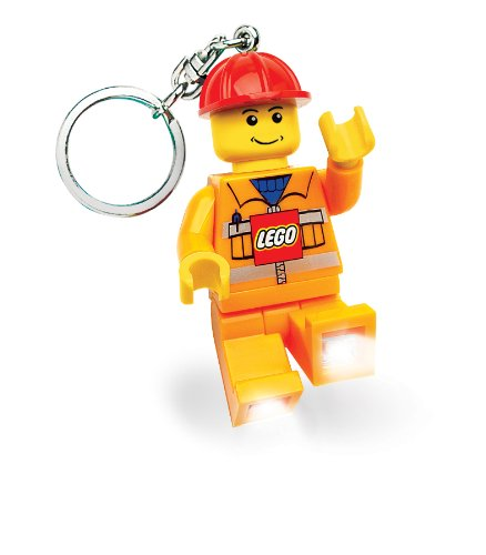 Lego City Key Light Construction Worker