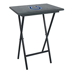 IFS - Indianapolis Colts NFL TV Tray Set with Rack by Imperial Billiards