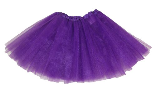 Purple Dance Or Ballet Tutu front-532580