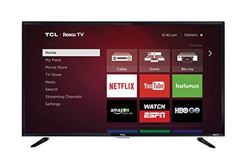 TCL 50FS3800 50-Inch 1080p Roku Smart LED TV (2015 Model)
