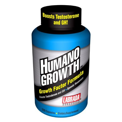 Labrada  Nutrition Humanogrowth, 120-Count Capsules