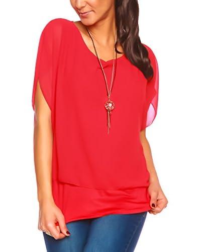 Scarlet Jones Blusa Rojo