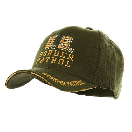 Law And Order Cap-U.S. BORDER PATROL- Olive W35S55E