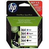 HP - Hewlett Packard PhotoSmart 7520 e All-in-One (364 / SD 534 EE) - original - Tintenpatrone MultiPack (schwarz, cyan, magenta, gelb)