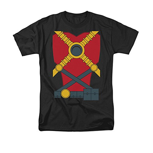 Justice League Of America DC Comics Red Robin Armor Costume Adult Mens T-Shirt