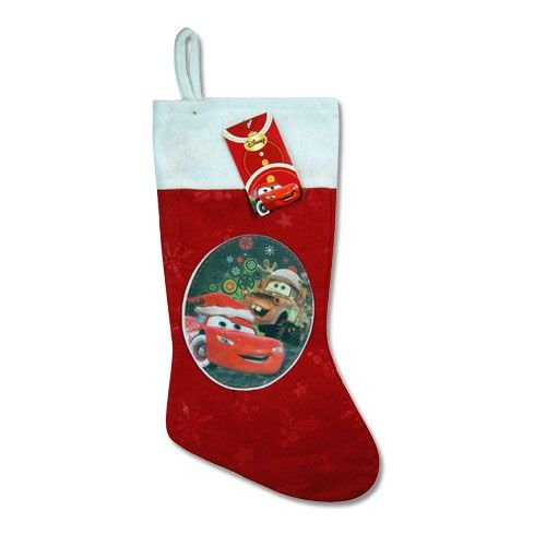 Cars Christmas Stocking for Kids