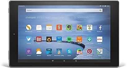 Fire HD 10, 26,7 cm (10,1 Zoll), HD-Display, WLAN, 16 GB (Schwarz) - mit Spezialangeboten