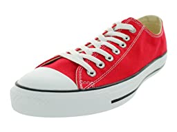 Converse Chuck Taylor Core Men\'s Chuck Taylor All Star Ox Sneaker 7 Red