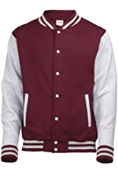 Awdis Varsity jacket - 16 Colours - Sizes XS to 2XL