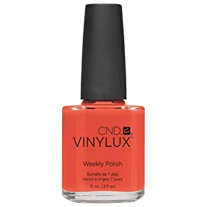 CND Vinylux ELECTRIC ORANGE 0.5oz #112