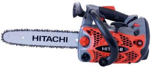Hitachi CS33ET(35S) 32.3 cc 350 mm (14-inch) Chainsaw With Top Handle And Pure Fire Engine