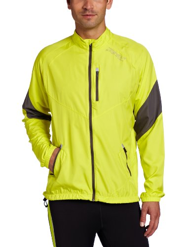 Zoot Sports Zoot Sports Men's Performance Flexwind Jacket (Volt/Graphite, Large)