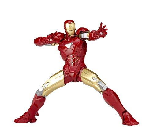 [Amazon.co.jp Limited】 Yamaguchi Libor micro mini Iron Man Mark 6 rm-003 (ABS & PVC painted action figure / original sticker)