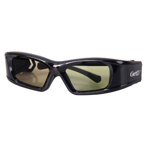 IR&BT 3D Aktiv Shutter Brille für Toshiba 40TL868 40TL868B 46TL868B TL933 TL938G 40TL968G 39L4363D 40L7363DG 32L233DG