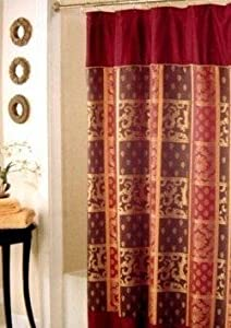 Bunk Bed Tents And Curtains Gold Dot Shower Curtain