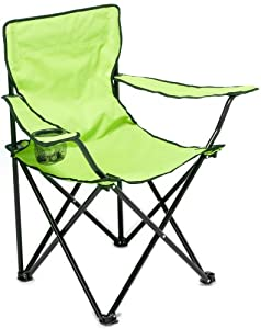 Tropix Green Folding Camping Chair from Tropix