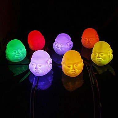 Zcl Coway Colorful Expressions Chinese Buddhism Maitreya Buddha Led Nightlight