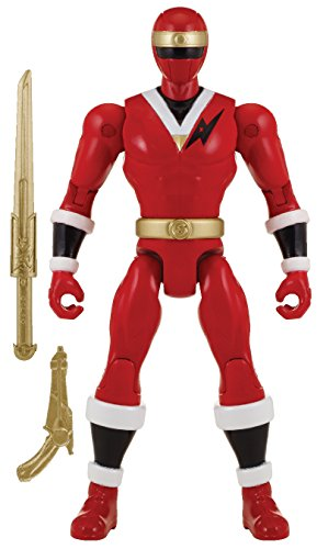 "Power Rangers Super Megaforce - 5"" Mighty Morphin Alien Red Ranger Action Hero"