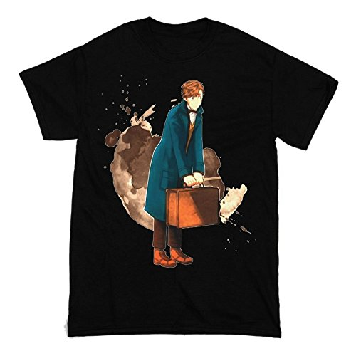 Fantastic Beasts and Where to Find Them Movie Artwork Men's T-shirt XX-Large