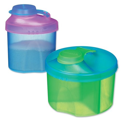 Munchkin Powdered Formula Dispenser Combo Pack, Colors May Vary