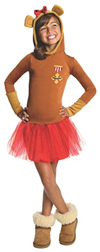 Rubies Wizard of Oz Cowardly Lion Hoodie Dress Costume, Child Small (Munchkin Costumes Wizard Of Oz)